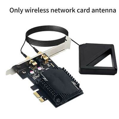 £12.46 • Buy Wireless Network Card Antenna 3000M WiFi6 Pcie Signal Dual Frequency Gaming UK