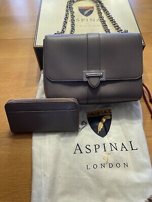 £220 • Buy Aspinal Of London Large Lottie Bag And Matching Purse
