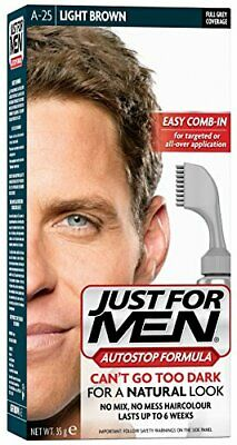 £11.02 • Buy Just For Men Autostop Hair Color Light Brown A25