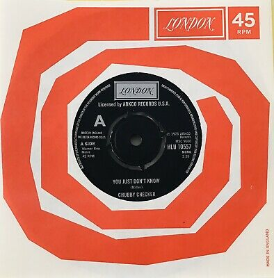 Chubby Checker * You Just Don't Know *ex* Wigan Casino Classic Northern Soul ❤️ • 34.99£
