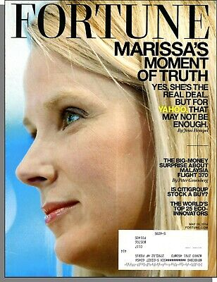 £3.63 • Buy Fortune - 2014, May 19 - Yahoo's Marissa Mayer, Anheuser-Busch