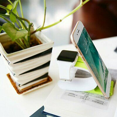 AU14.65 • Buy Universal Phone Stand And Stand Holder Charging Dock For Apple Watch For IPhone