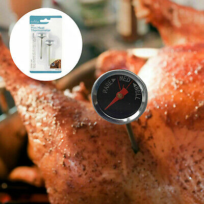 £2.49 • Buy 2 X Mini Meat Thermometer Kitchen Probe Temperature Cooking Baking Turkey Tool