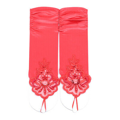 £3.59 • Buy Women Lace Short Fingerless Gloves Wedding Bridal Party Accessories Prom J
