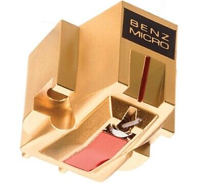 Benz Micro MC Gold Moving Coil Cartridge - Maroon Box With Accessories • 345£