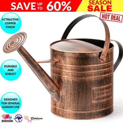 AU30.64 • Buy Holman 9L Copper Finished Watering Can - WC0014