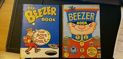 Vintage Annuals The Beezer Book 1965 & 1964 Rare  • 22£
