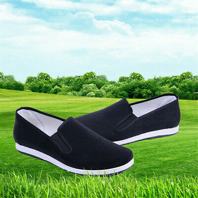 Women Kung Fu Shoes Rubber Sole Tai Chi Martial Arts Slippers Chinese Style • 8.23£