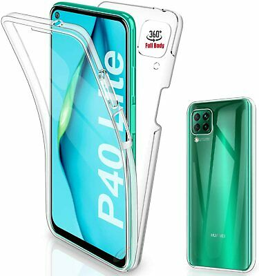 £2.75 • Buy 360 Front And Back Case Silicone Gel Cover TPU For Huawei P40 / P30 / Pro / Lite