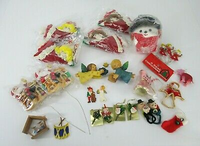 $ CDN31.54 • Buy Vintage Lot Of Christmas Tree Ornament Decorations Variety Holiday