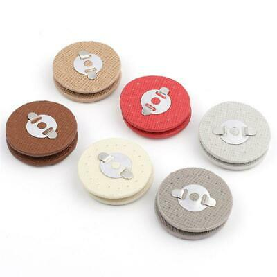 Circle Sew-on Magnetic Button Bag Clasp Snaps Metal Fastener Sewing Craft DIY • 2.21£