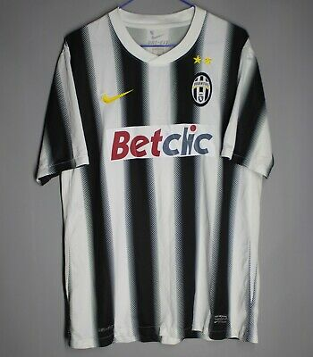 £39.99 • Buy Juventus Italy 2011/2012 Home Football Shirt Jersey Nike Size L Adult #18 Anelka