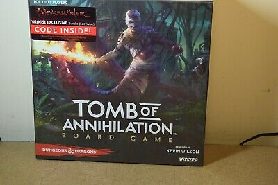 AU171.32 • Buy WIZKIDS DUNGEONS & DRAGONS TOMB OF ANNIHILATION BOARD GAME D & D Factory Sealed