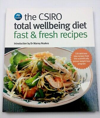 AU29.99 • Buy The CSIRO Total Wellbeing Diet - Fast & Fresh Recipes By CSIRO Paperback