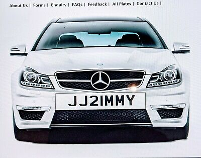 £1800 • Buy JIMMY JAMES JIM Personal, Private, Number Plate All Fees JJ21MMY