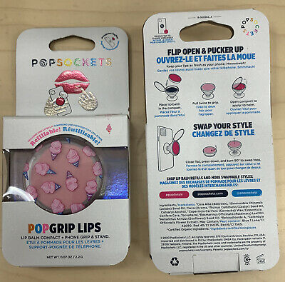 AU16.68 • Buy 💋Popsockets Popgrip Lips - Pink Cotton Candy - Cell Phone Holder/Grip & Stand💋