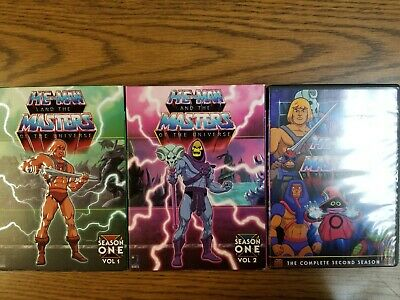 $39.99 • Buy Motu He-man And The Masters Of The Universe Complete Series Dvd Set
