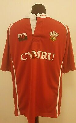 £14.99 • Buy Men's Wales Rugby Union Manav Thick Top M Welsh Dragon Daffodil Short Sleeve