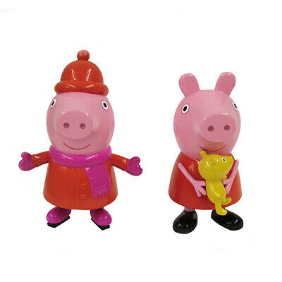 Kurt Adler 3.5-Inch To 4-Inch Peppa Pig™ Blow Mold Christmas Ornaments 2 Asso... • 14.21£