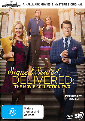 AU65.99 • Buy Signed, Sealed, Delivered - Collection 2 DVD (5-Discs) Hallmark Movies New
