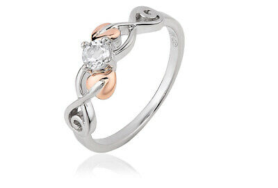 £119 • Buy Clogau Welsh Gold Silver Tree Of Life Anniversary Ring - 3STLQR