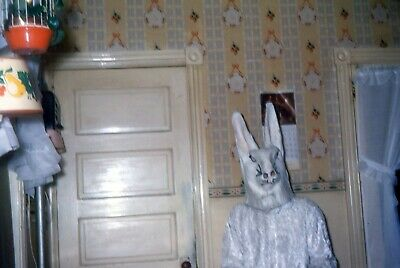 $9.99 • Buy H027 35mm Slides Halloween Costume Party Scary Rabbit