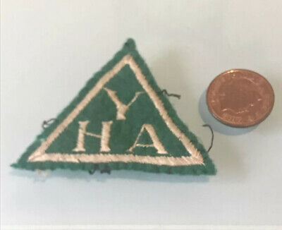Youth Hostel Association (YHA) Vintage Fabric Sew On Patch/Badge • 10.75£