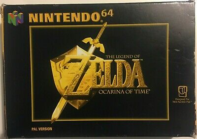 The Legend Of Zelda: Ocarina Of Time (Nintendo 64, 1998) PAL Boxed With Manual • 38.95£