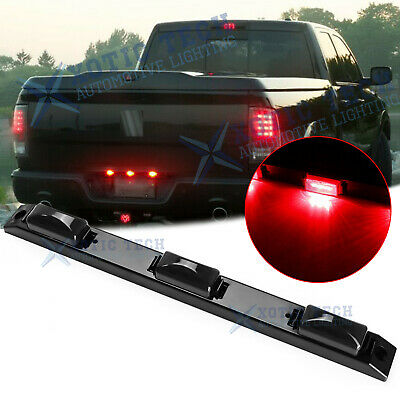 $20.57 • Buy For Dodge Ram 1500 2500 3500 Red Smoked LED Rear Tailgate Trunk Tail Light Bar