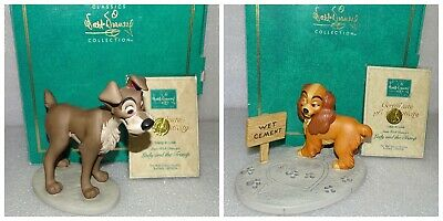 WDCC Lady & The Tramp  In Love  Walt Disney Classics Collection Retired 1997  • 120£