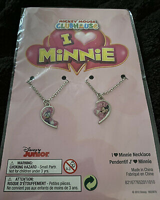 Disney Minnie Mouse & Daisy Duck Best Friends Necklace • 1.50£