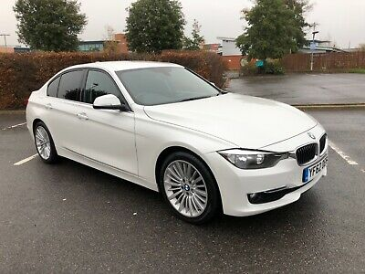 Bmw 320d Luxury 2012 8 Speed Automatic 2.0 Diesel Mineral White £30 Road Tax • 8,995£