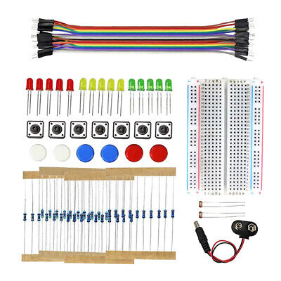 Electronics Components Fun Kit W / Power Module, Jumper Wire, 400 Tie Point • 4.99£