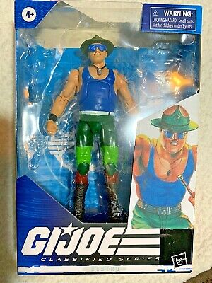 $ CDN66.64 • Buy CUSTOM GI Joe 6  Classified - SGT. SLAUGHTER - 50% To Charity K9s For Warriors