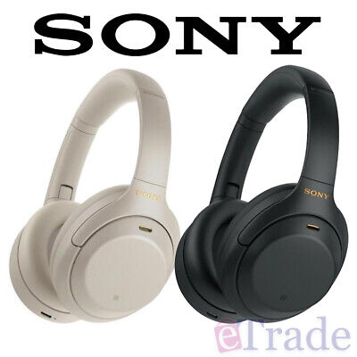 AU375 • Buy NEW Sony WH-1000XM4 Wireless Noise Cancelling Over-Ear Headphones