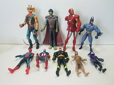 Bundle Collection Of Action Figures Inc Batman Biker Mice From Mars And Others • 9.99£