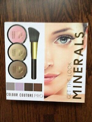 £8 • Buy Colour Couture PRO 8 Piece Mineral Makeup Eyeshadows And Blush Set
