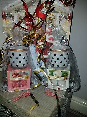 Yankee Candle Tealights Plus Candle Holder Gift Set Hand Finished Christmas#1🎄 • 10.29£