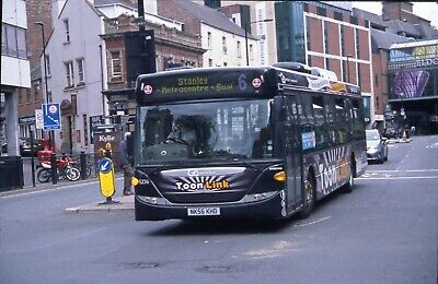 £1.50 • Buy Go North East  Scania Mnicity NK56 KHD Toonlink Newcastle Original Bus Slide