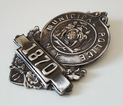 £24.99 • Buy Obsolate Historical Police Badge....City Of New York 1870