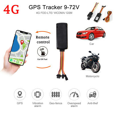 AU119.99 • Buy TK419 4G GPS Tracker Tracking Locator Real Vehicle Live Time Device Car Tracking