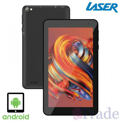 AU79.90 • Buy Laser 7  Inch Android Tablet |  Quad Core | 16Gb Internal Memory | Expandable