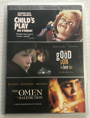 Childs Play / The Good Son / The Omen (DVD, 2008, Triple Feature, OOP) Canadian • 17.27£