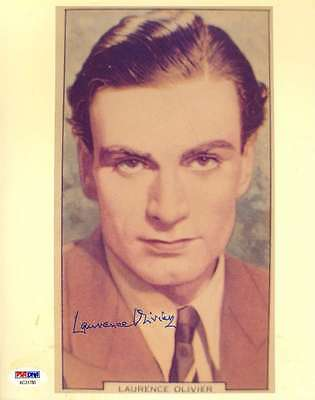 Laurence Olivier Psa/dna Coa Hand Signed 8x10 Photo Authentic Autograph • 88.69£