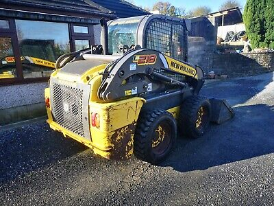 New Holland L 218 Skid Steer Plus We Have Manitou 634 629 And Matbro TR 250 • 13,995£