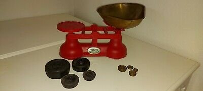 Vintage Traditional Salter Kitchen Weighing Scales & Weights  • 30£