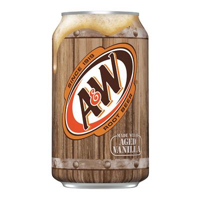 American Import - A & W Root Beer (355ml) • 5.40£