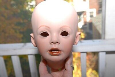 $ CDN28.80 • Buy Porcelain Hand Painted Doll Head  Sherry  Donna Rubert 1994 By June Giannon 1995