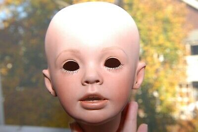 $ CDN26.18 • Buy Porcelain Hand Painted Doll Head  Sherry  Donna Rubert 1994 By June Giannon 1995