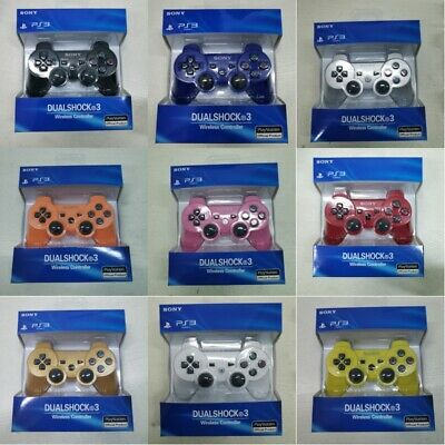Ps3 SONY Controller GamePad PlayStation 3 DualShock Wireless Bluthtooth SixAxis • 11.99£